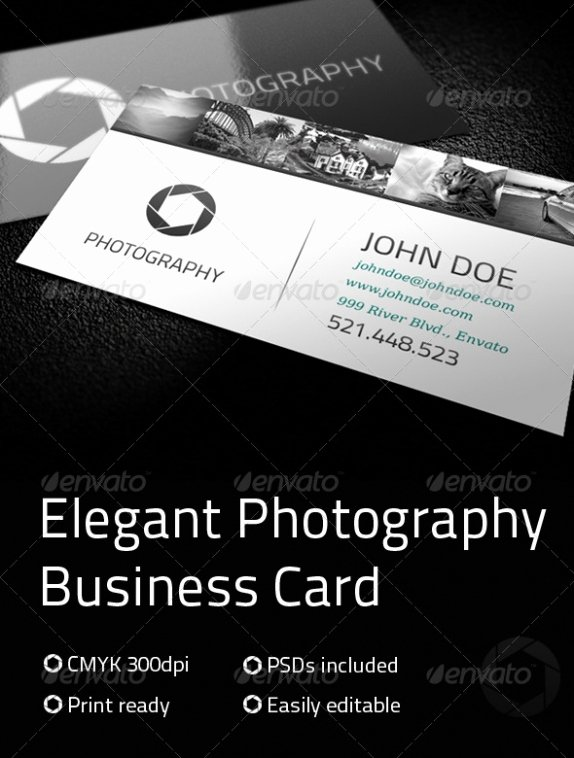 Photography Business Card Template New Cardview – Business Card & Visit Card Design