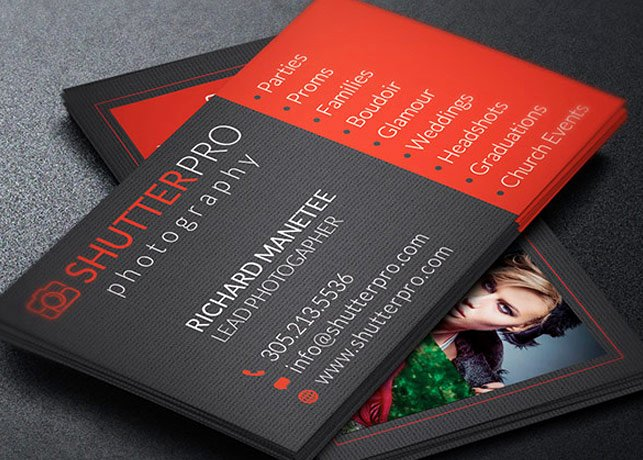Photography Business Card Template New Graphy Business Card Template
