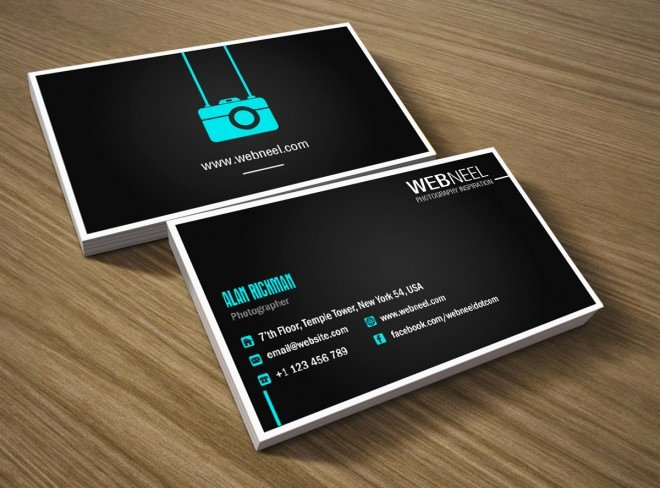 Photography Business Card Template Unique 10 Business Card Design Templates for Graphers