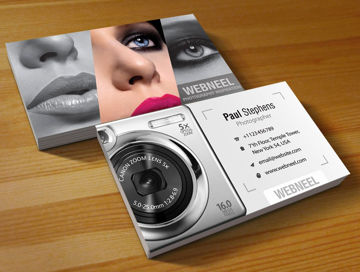 Photography Business Card Template Unique Graphy Business Card Design Template 44