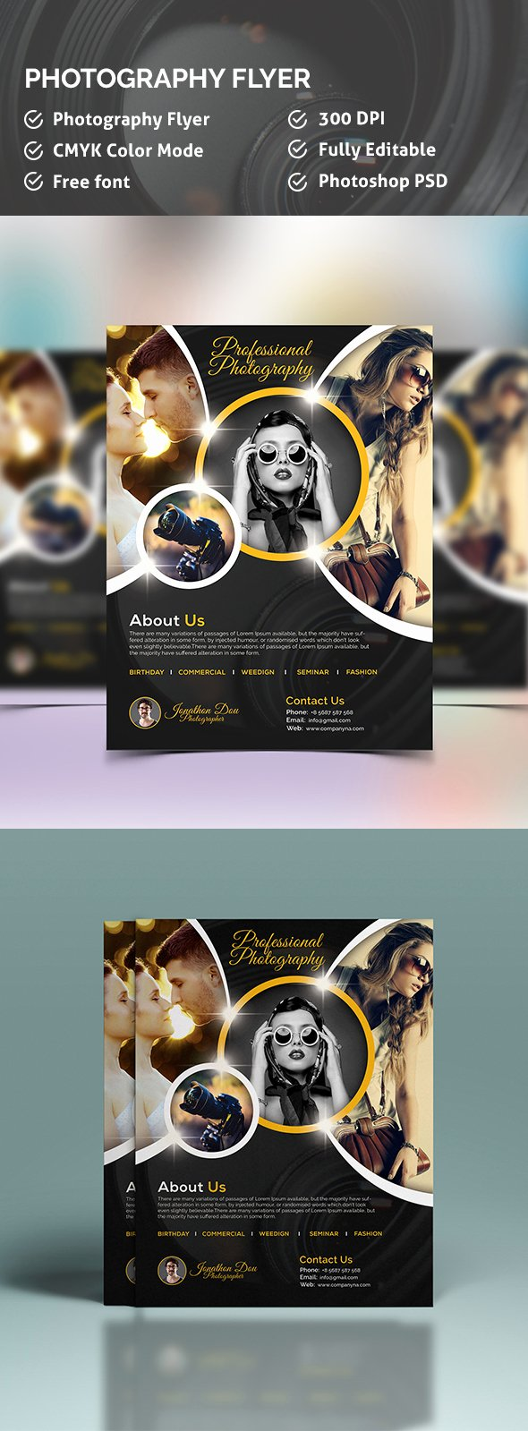 Photography Flyer Template Free Awesome Graphy Flyer Template