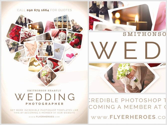 Photography Flyer Template Free Awesome Wedding Grapher Flyer Template Flyerheroes