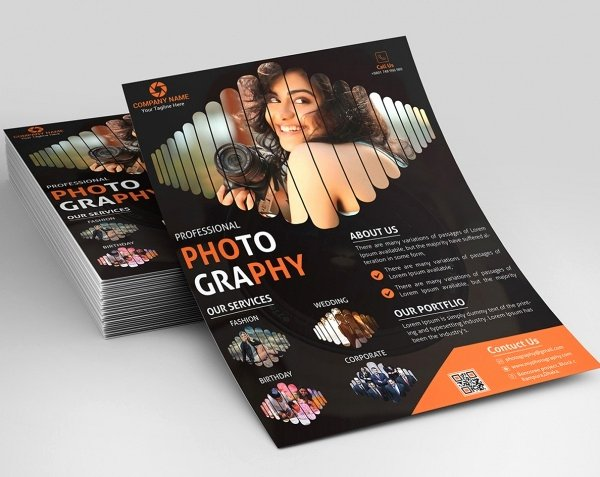 Photography Flyer Template Free Beautiful 38 Graphy Flyer Templates Psd Vector Eps Jpg