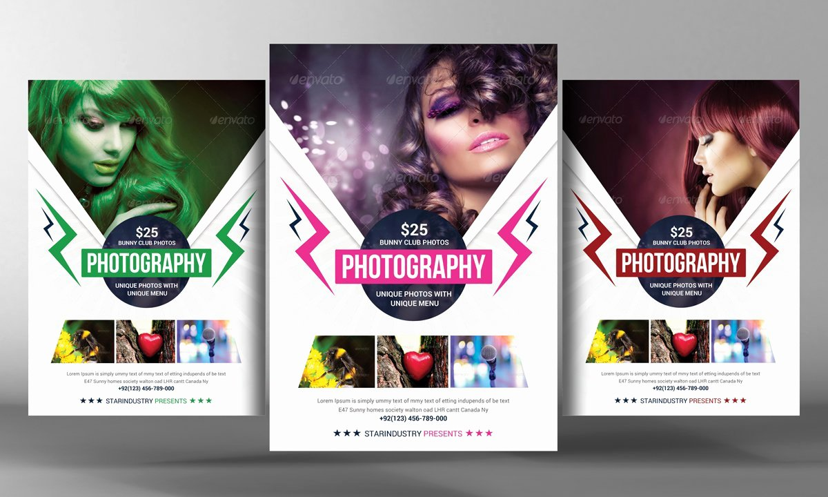 Photography Flyer Template Free Fresh Graphy Flyer Template Flyer Templates Creative Market