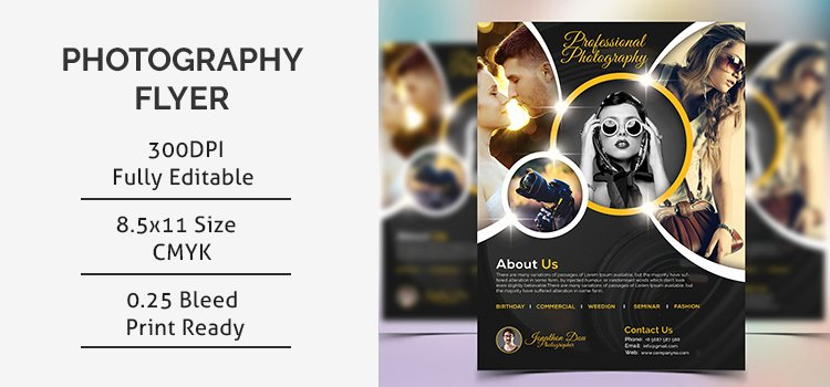 Photography Flyer Template Free Fresh Graphy Flyer Template