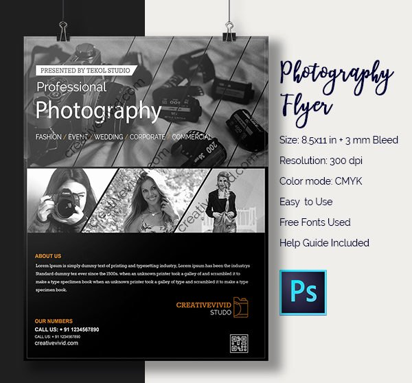 Photography Flyer Template Free Lovely 33 Graphy Flyer Templates Free & Premium Download