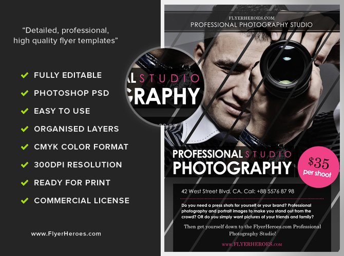 Photography Flyer Template Free Lovely Free Graphy Flyer Template Flyerheroes