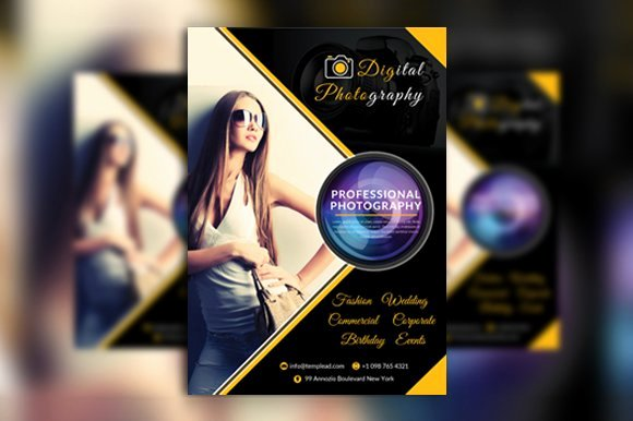 Photography Flyer Template Free Lovely Graphy Flyer Flyer Templates Creative Market