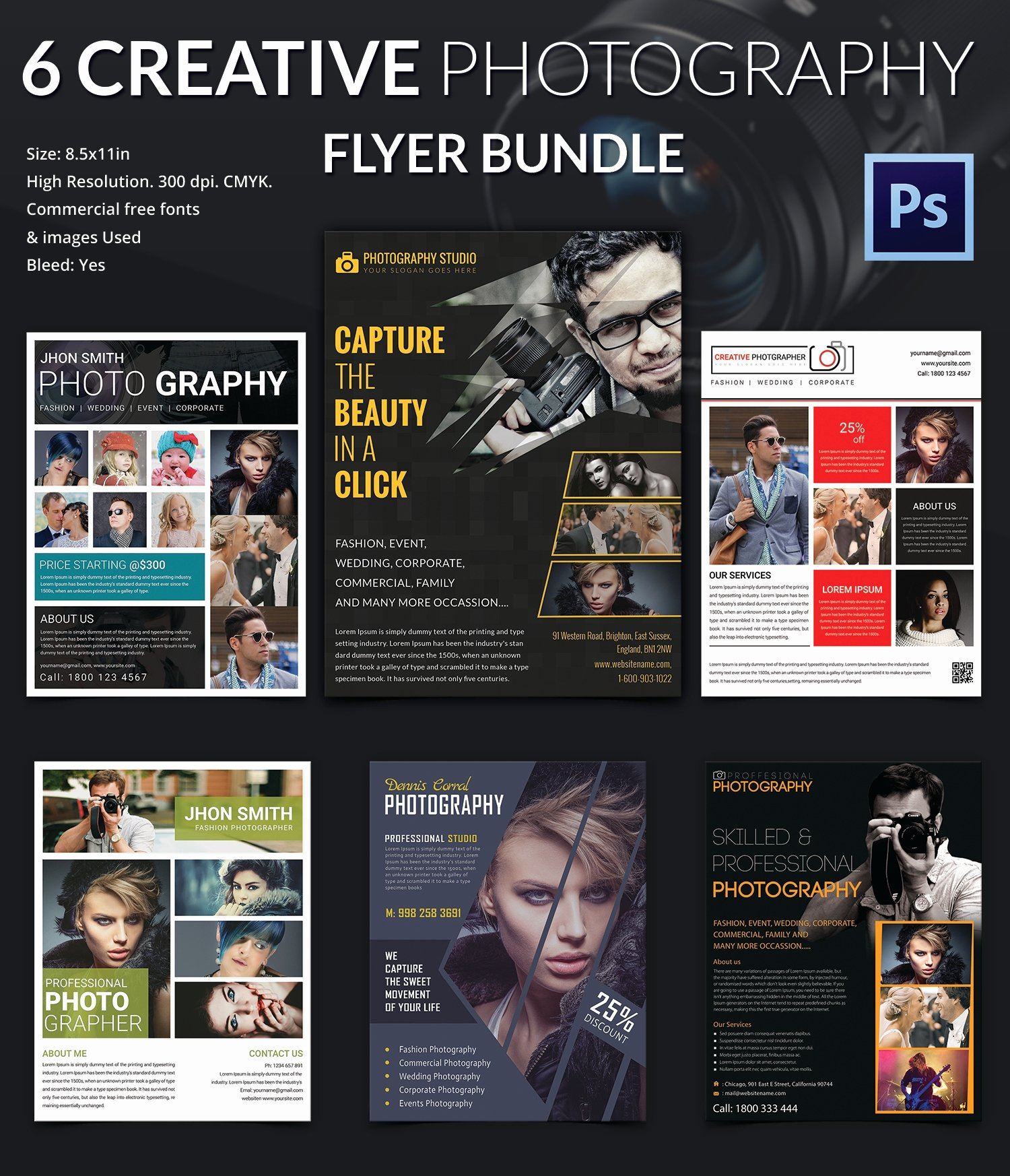 Photography Flyer Template Free Luxury Graphy Flyer Template 41 Free Psd format Download