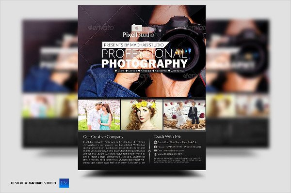 Photography Flyer Template Free New 33 Graphy Flyer Templates Free & Premium Download