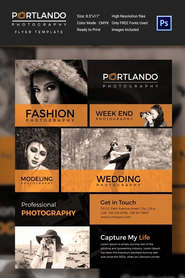 Photography Flyer Template Free New Graphy Flyer Template 41 Free Psd format Download