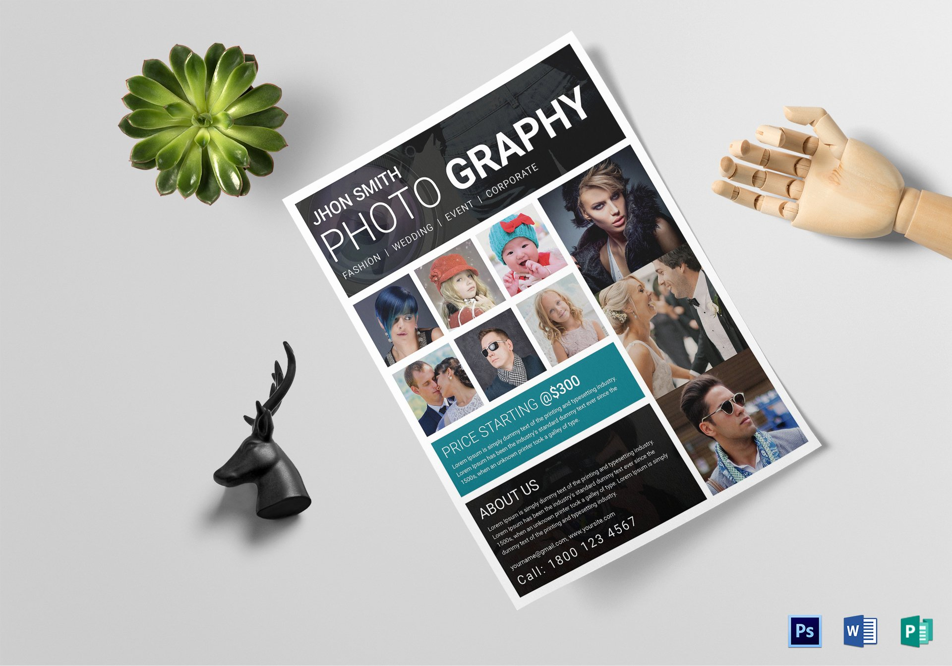 Photography Flyer Template Free New Modern Graphy Flyer Design Template In Word Psd