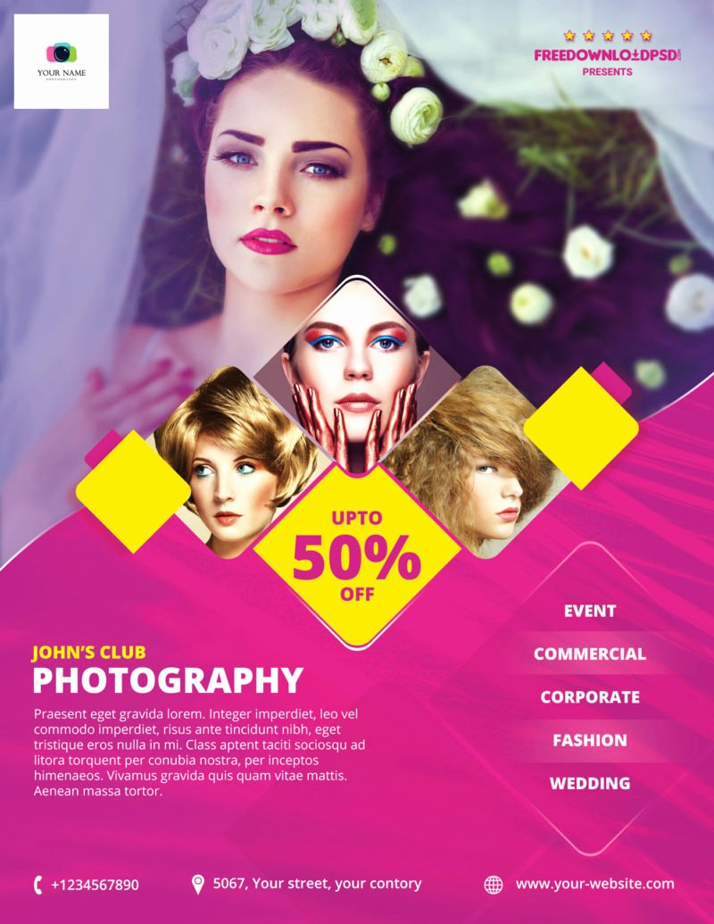 Photography Flyer Template Free Unique [free] Graphy Flyer Template