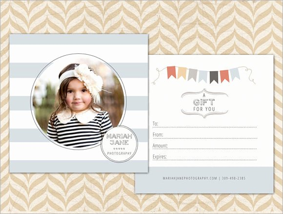 Photography Gift Certificate Template Free Beautiful 12 Sample attractive Graphy Gift Certificate
