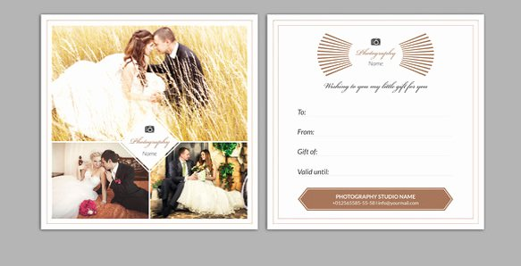 Photography Gift Certificate Template Free Beautiful Graphy Gift Certificate Wording – Creative Advice