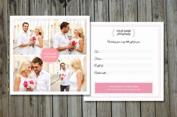 Photography Gift Certificate Template Free Best Of 12 Graphy Gift Certificate Templates – Free Sample