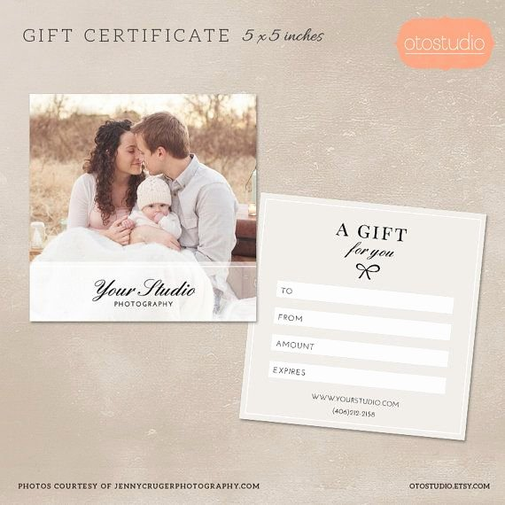 Photography Gift Certificate Template Free Best Of 25 Best Ideas About Gift Certificate Templates On