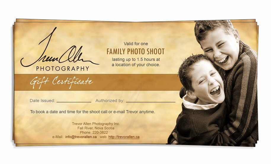 Photography Gift Certificate Template Free Inspirational Gift Certificate Template Graphy Bizoptimizer