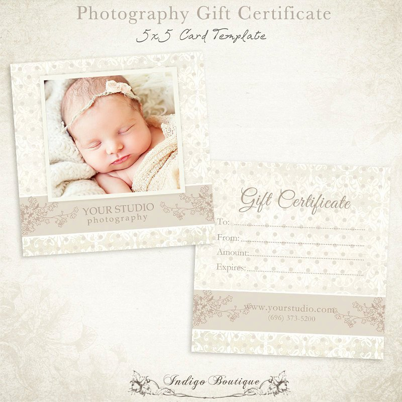 Photography Gift Certificate Template Free Inspirational Graphy Gift Certificate Photoshop Template 007 Id0105