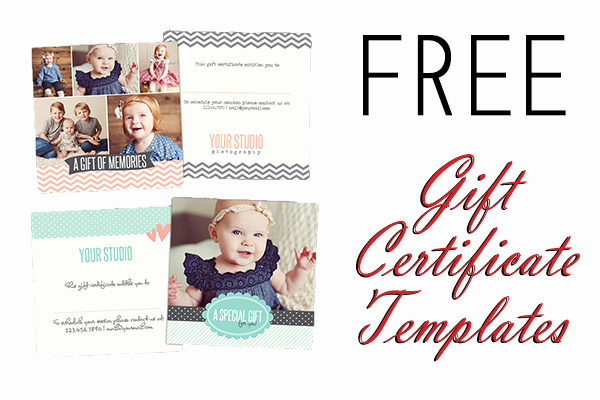 Photography Gift Certificate Template Free Luxury 12 Best Of Graphy Gift Certificate Templates