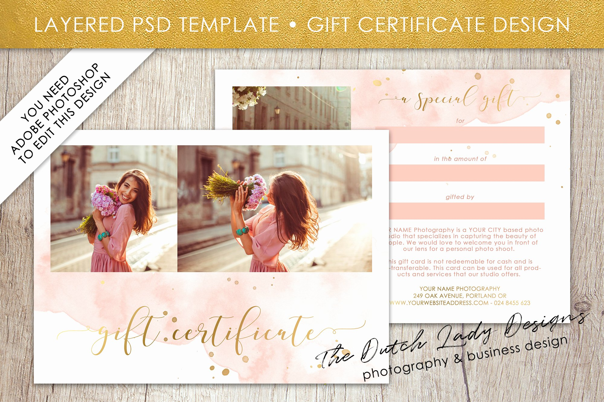 Photography Gift Certificate Template Free New Graphy Gift Certificate Template Gift Card
