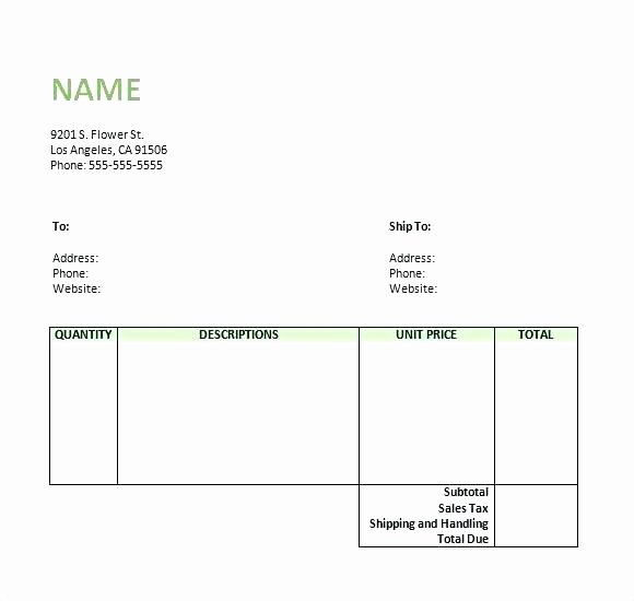 Photography Invoice Template Word Awesome Basic Receipt Template Sample Receipt Template Word