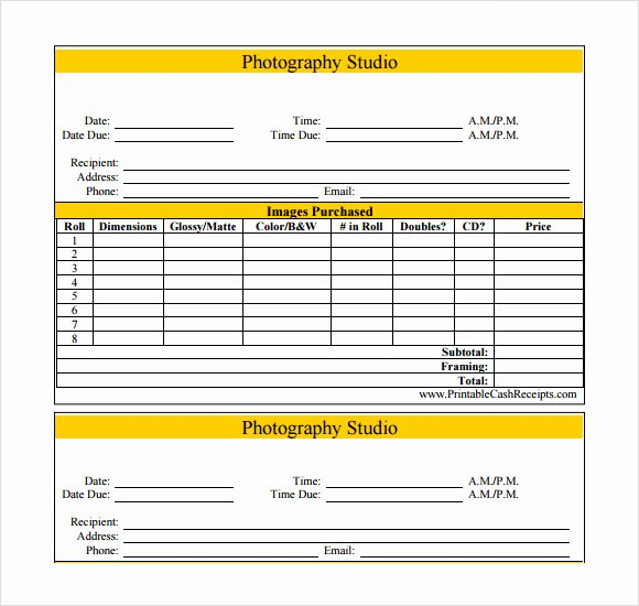 Photography Invoice Template Word Awesome Graphy Invoice Template Word