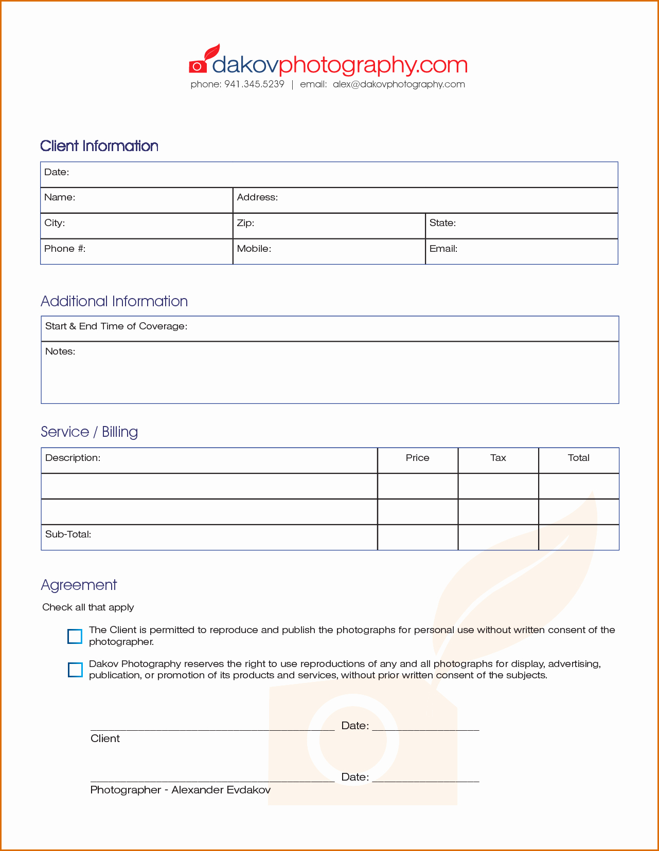 Photography Invoice Template Word Inspirational Graphy Invoice Template Spreadsheet Templates for