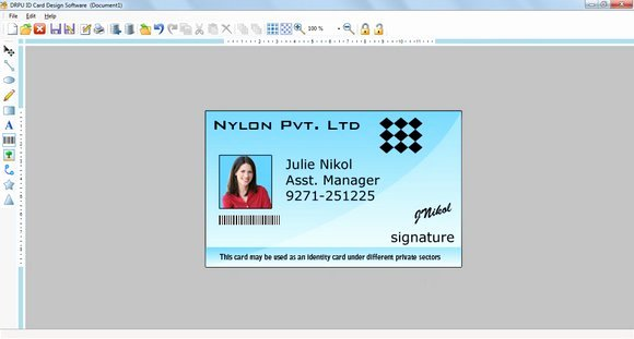 Photoshop Id Card Template Beautiful Free Download Shop Id Cards Templates