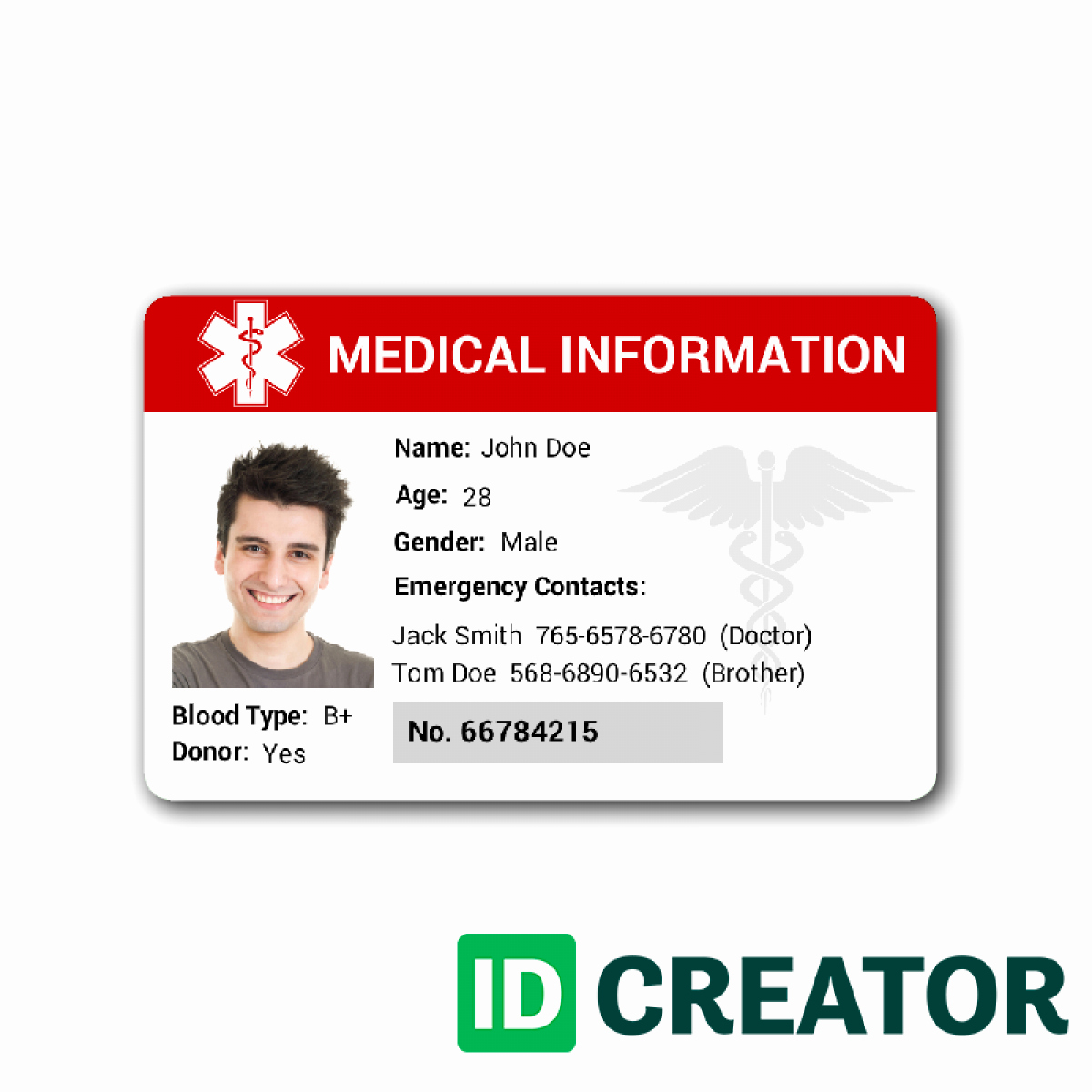 Photoshop Id Card Template Beautiful Id Card Template