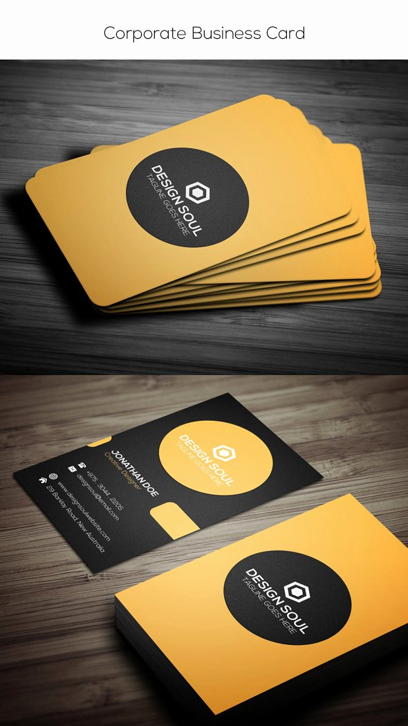 Photoshop Id Card Template Best Of 15 Premium Business Card Templates In Shop