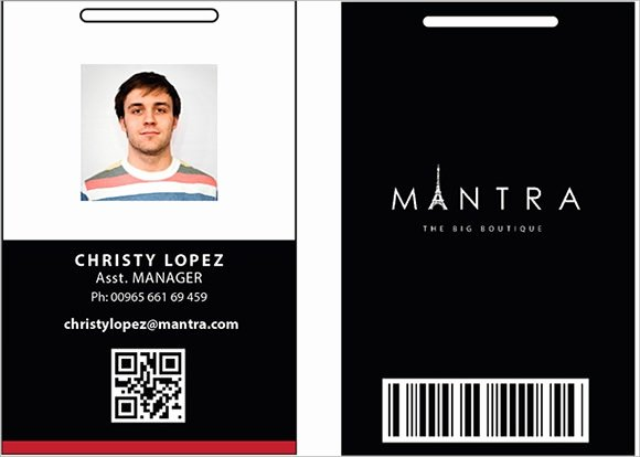 Photoshop Id Card Template Best Of 36 Amazing Id Card Templates Ai Word Apple Pages