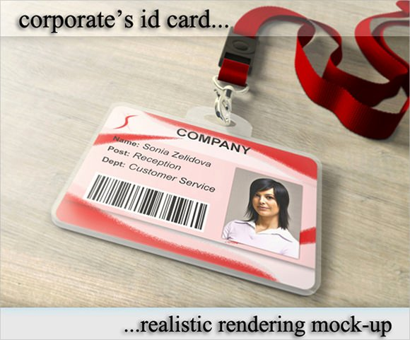 Photoshop Id Card Template New 36 Amazing Id Card Templates Ai Word Apple Pages