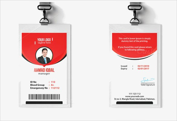 Photoshop Id Card Template Unique Id Card Template 19 Download In Psd Pdf Word