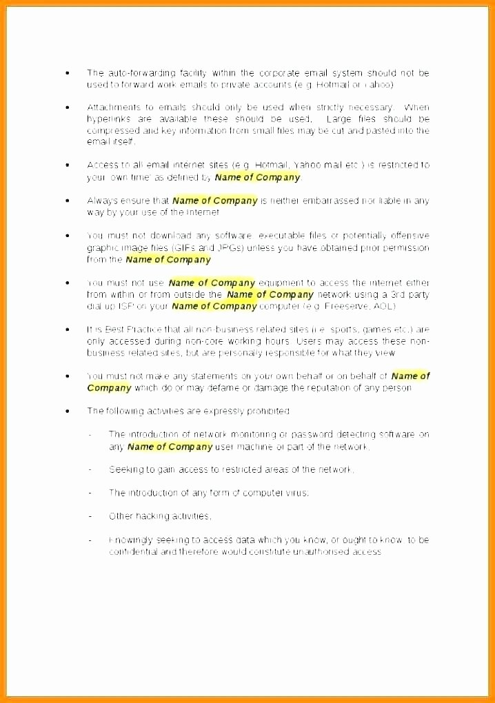 Physical Security Policy Template Inspirational Email Security Policy Template Return Policy Template