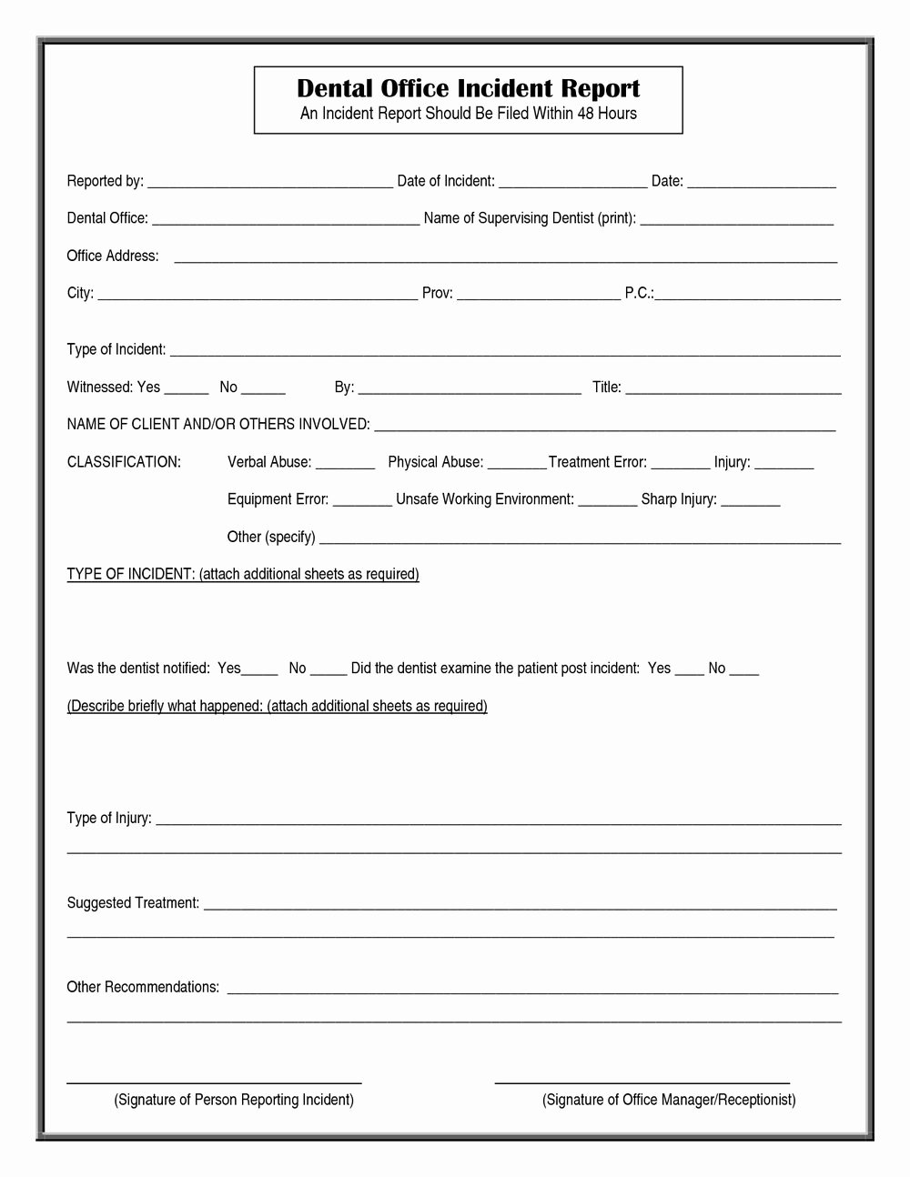 Physical Security Policy Template Luxury Dot Physical forms 2018 forms 4634