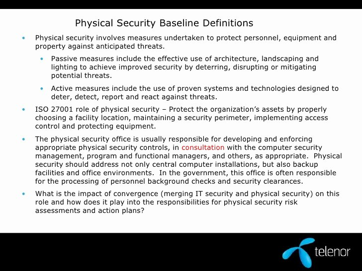 Physical Security Risk assessment Template Unique Physical Security assessment