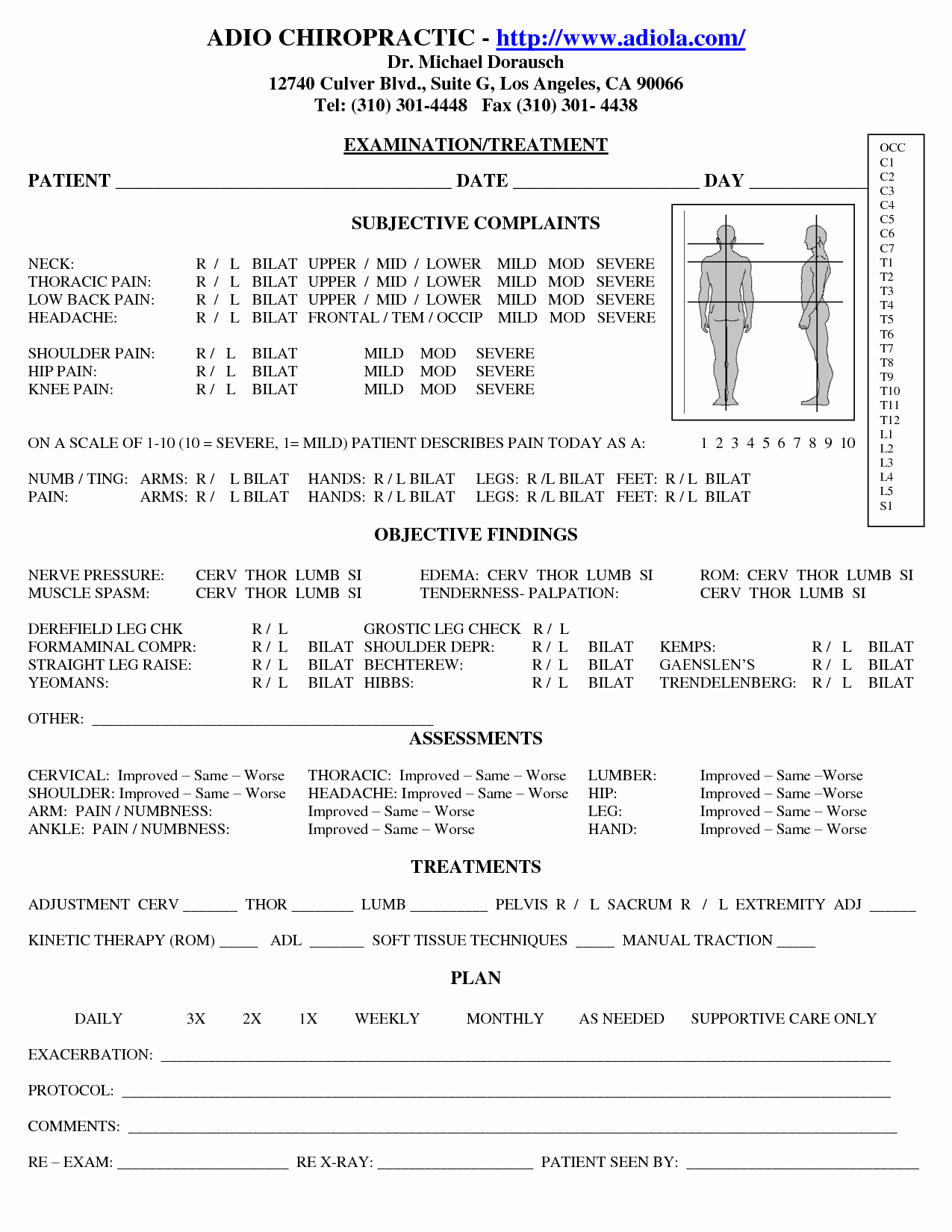 Physical therapy Daily Note Template Inspirational Chiropractic soap Notes Chiropracitic Pinterest