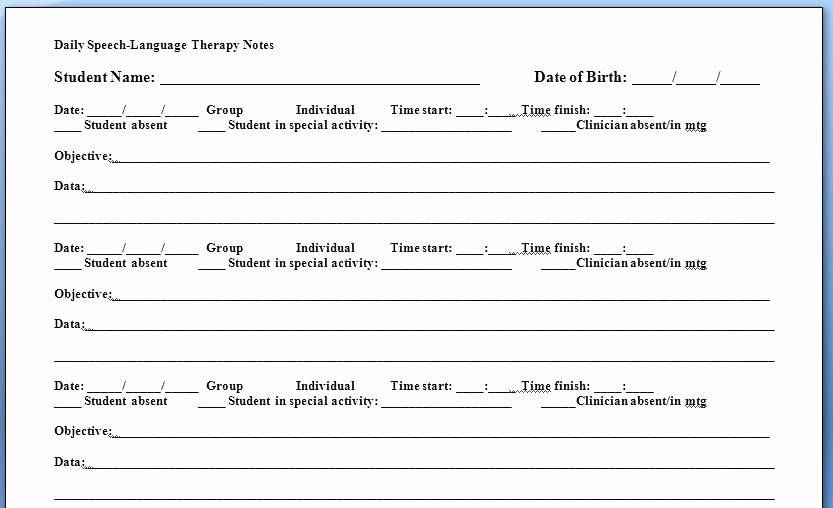 Physical therapy Daily Note Template Lovely Psychotherapy Documentation Examples Image Result for soap