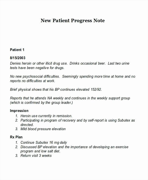 Physical therapy Daily Note Template New Nursing soap Note Template Pt Example Abbreviations