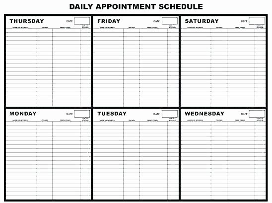 Physician Appointment Scheduling Template Beautiful Doctor Schedule Template – Maney