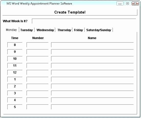 Physician Appointment Scheduling Template Beautiful Doctor Schedule Template