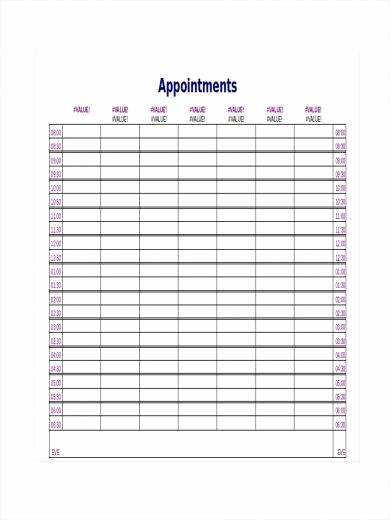 Physician Appointment Scheduling Template Luxury 50 Printable Schedule Template – Pdf Word Excel