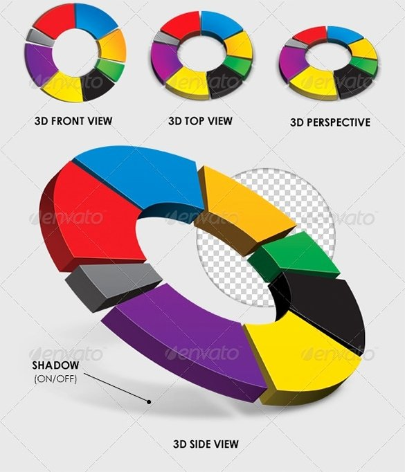 Pie Chart Template Excel New 3d Pie Chart Excel
