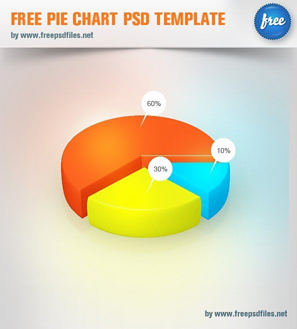 Pie Chart Template Excel New Free Pie Chart Psd Template Free Psd Files