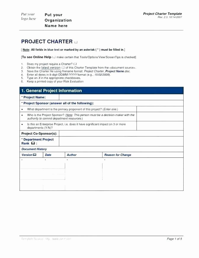 Pilot Project Plan Template Elegant Project Plan Document Template Free Integrated New Lovely