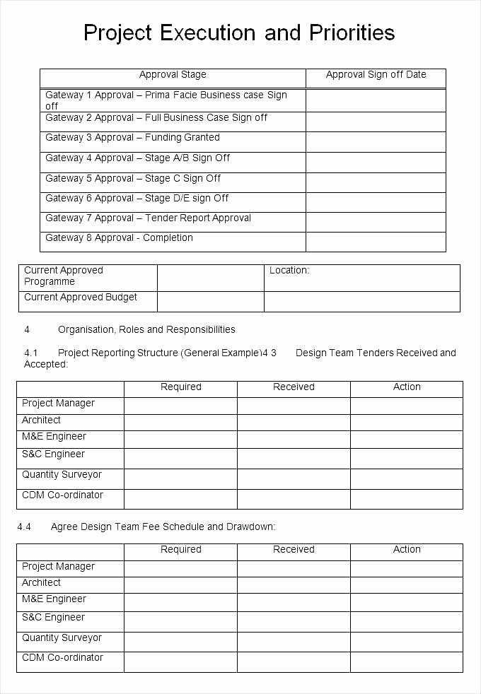 Pilot Project Plan Template Unique Pilot Project Plan Template