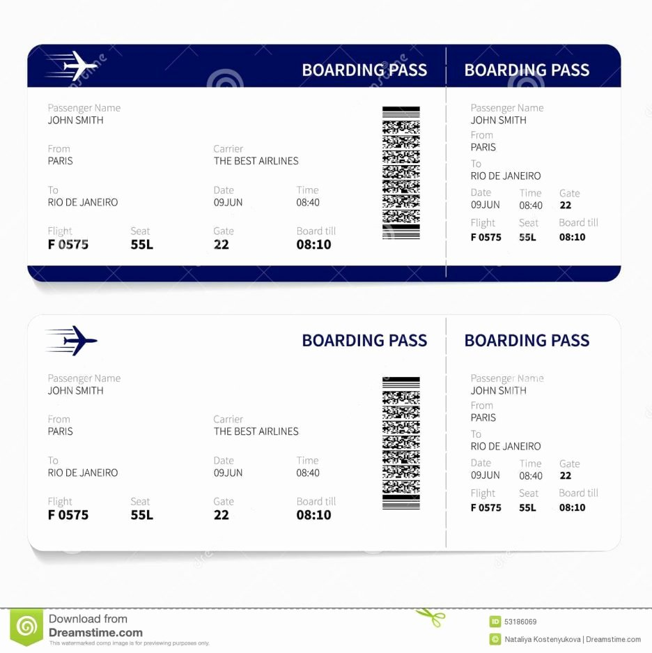 Plane Ticket Template Word Beautiful Fake Ticket Template Free Liability Release form Payment