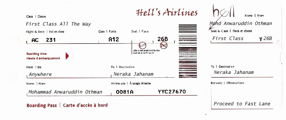 Plane Ticket Template Word Elegant Plane Ticket Template Word Blank Printable Flight Airplane