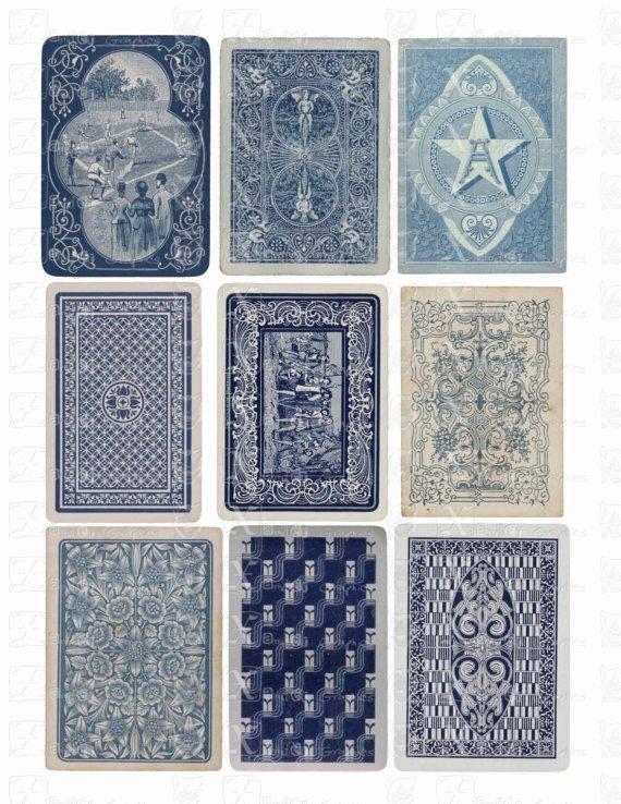 Playing Card Design Template Beautiful Generic Pattern Typologies Playing Cards Adam Marcus